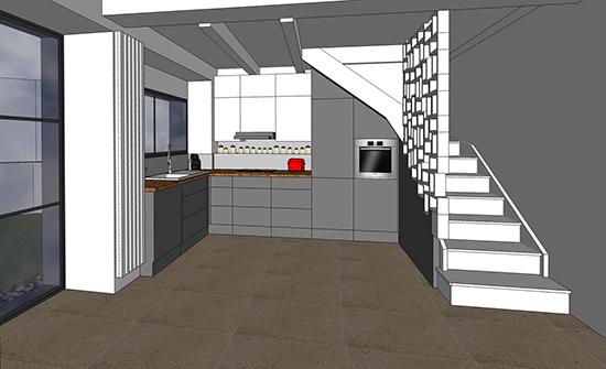 Accessoires cuisine accessoires cuisines - Comment amenager sous escalier ...