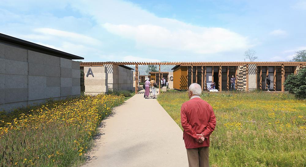 construction d une maison en partage construction en paille les mages 30 architecte kva. Black Bedroom Furniture Sets. Home Design Ideas